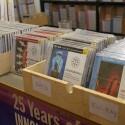 Auswahl: Am Messestand von Tacet konnte man die Klangschätze auch kaufen, von CD bis 5.1-Blu-ray. (Bild: netzwelt)