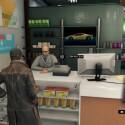 Auch eingekauft werden darf in Watch Dogs. Apotheken, Waffenläden und Kleidungsgeschäfte warten auf euren Zaster. (Bild: Screenshot Ubisoft)