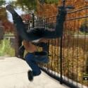 Nein, Tackling ist keine vollwertige Nebenbeschäftigung in Watch Dogs - so sieht es aus, wenn ihr einen Verbrecher dingfest macht. (Bild: Screenshot Ubisoft)