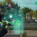 In den Augmented Reality-Spielen jagt ihr außerirdische Invasoren oder müsst pixelige Münzen innerhalb eines Zeitlimits einsacken...etwas seltsam. (Bild: Screenshot Ubisoft)