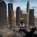 Die Kulisse in Battlefield Hardline ist ein Alleinstellungsmerkmal des Spiels: Statt karger Kriegskulisse bieten sich Spieler in einer Großstadt die Stirn. (Bild: Facebook - Game Nosso de Cada Dia)