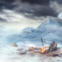 In den kommenden DLC-Episoden wird es eisig: Ein Abschnitt der Suche nach den Königskronen führt euch in eine Schneelandschaft. (Bild: Bandai Namco)