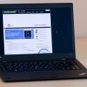 Edle Erscheinung: Das ThinkPad X1 ist so flach und schick, dass sich nicht nur Geschäftsleute dafür interessieren. (Bild: netzwelt)