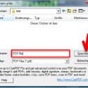 Jetzt müssen Sie nur noch den Speicherort auf der Festplatte wählen und auf den Speichern-Button klicken, um Ihre erstellte PDF-Datei abzulegen. (Bild: Screenshot)