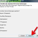 """Jetzt wählen Sie aus, auf welchem Cloud-Speicher Sie Ihr Backup sichern möchten. Setzen Sie den Punkt vor der Cloud oder wählen Sie """"Datei-basierend"""", wenn Sie die Daten lokal oder auf einem Wechseldatenträger sichern möchten. (Bild: Screenshot)"""