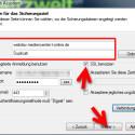 """Geben Sie unter """"Server"""" die entsprechende Adresse """"webdav.mediencenter.t-online.de"""" ein. Im Feld """"Pfad"""" geben Sie an, in welchem Ordner Ihr Backup abgelegt werden soll. Außerdem müssen Sie Ihre Zugangsdaten bestehend aus Benutzername und Passwort erfassen. Da die Daten über eine verschlüsselte Verbindung übertagen werden, aktivieren Sie das Häkchen vor """"SSL benutzen"""". Über den Button """"Weiter >"""" gelangen Sie zum nächsten Schritt, um Ihren Backup-Auftrag zu konfigurieren. (Bild: Screenshot)"""