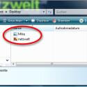 Die wiederhergestellten Daten befinden sich mit der kompletten Ordnerstruktur im angegebenen Verzeichnis. (Bild: Screenshot)
