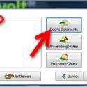 """Bestimmen Sie jetzt, welche Daten gesichert werden sollen. Möchten Sie nur die Nutzerdateien in den Windows-Standardverzeichnissen sichern, klicken Sie auf die drei Buttons in der Mitte. Beispielsweise sichern Sie alle Dokumente des aktuellen Windows-Nutzers, indem Sie auf """"Eigene Dokumente"""" klicken. Über """"Anderes Verzeichnis"""" selektieren Sie beliebige Ordner auf Ihrer Festplatte. (Bild: Screenshot)"""