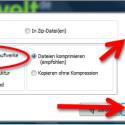 """In diesem Schritt sollten Sie die Standardeinstellung auf """"Getrennte Verzeichnisse für Laufwerke"""" belassen. Das erleichtert die Orientierung, wenn Sie später im Backup eine bestimmte Datei suchen. Außerdem lässt sich dadurch die Dateistruktur wiederherstellen. Wenn Ihre Datensicherung verschlüsselt werden soll, setzen Sie das Häkchen vor """"Dateien verschlüsseln"""". Klicken Sie auf """"Weiter"""", um Ihre Wahl zu bestätigen. (Bild: Screenshot)"""