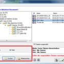 """Personal Backup zeigt Ihnen die gesamte gesicherte Ordnerstruktur inklusive der enthaltenen Dateien an. Entweder navigieren Sie über den Verzeichnisbaum im linken Fenster zum gewünschten Ordner oder Sie suchen über das Suchfeld links unten nach Dateinamen. Mit einem Häkchen vor dem jeweiligen Verzeichnis oder der Datei legen Sie fest, dass diese wiederhergestellt werden soll. Über die """"Ja""""-Schaltfläche rechts unten übernehmen Sie Ihre Wahl. (Bild: Screenshot)"""
