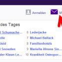 """Besuchen Sie in Ihrem Webbrowser die Webseite von <a href=""""http://www.yahoo.de"""" target=""""_blank"""">Yahoo</a> und klicken Sie oben rechts auf den Link """"Mail"""". (Bild: Screenshot)"""