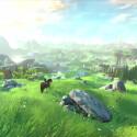 Der erste Blick in die offene Welt des neuen The Legend of Zelda.