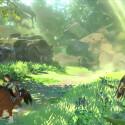 Im Trailer muss Link kurzzeitig die Flucht vor dem Monstrum ergreifen.