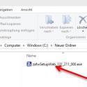 """Ein Doppelklick auf die gespeicherte EXE-Datei startet den Installationsvorgang. Es ist möglich, dass sich die Benutzerkontensteuerung von Windows meldet. Bestätigen Sie den Vorgang mit einem Klick auf """"Ja"""". (Bild: Screenshot)"""