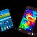 Das Galaxy S5 mini soll ein 4,5 Zoll großes Super AMOLED-Display bieten. (Bild: SamMobile)