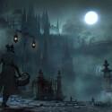 Die Stadt Yharnam ist ein gefährliches Pflaster, doch im Mondschein üben ihre nebelverhangenen Straßen und gotischen Gebäude auch eine seltsame Faszination aus. (Bild: Sony)
