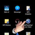"""Starten Sie die Android-App nach der Installation mit einem Klick auf """"MyPhoneExplorer Client"""". (Bild: Screenshot)"""