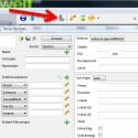 Einen neuen Kontakt legen Sie über die Symbolleiste am oberen Bildschirmrand an. In den Kontaktdetails legen Sie rechts neben dem Profilbild fest, unter welchem Konto der neue Kontakt gespeichert werden soll. (Bild: Screenshot)