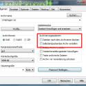 """In den Archivoptionen legen Sie optional fest, dass die komprimierten Dateien nach der Erstellung des Archivs gelöscht werden sollen. Außerdem erstellen Sie eine EXE-Datei, indem Sie das Häkchen """"Selbstextrahierendes Archiv erstellen"""" aktivieren. Dadurch kann der Empfänger Ihres Archivs die Daten unter Windows entpacken, ohne dass er WinRAR oder eine andere Software benötigt. (Bild: Screenshot)"""