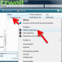 """Navigieren Sie im Windows Explorer zu dem Verzeichnis, in dem sich das Archiv befindet. Klicken Sie die RAR-Datei mit der rechten Maustaste an und wählen Sie im Kontextmenü """"Dateien entpacken…"""" aus. (Bild: Screenshot WinRAR)"""
