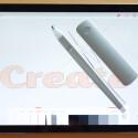 Der Adobe Stift dient der Eingabe direkt auf dem iPad-Display. Das kennt man bereits von herkömmlichen Stylus-Eingabestiften. (Bild: Adobe)