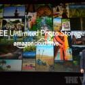 Amazon gewährt Nutzern des Fire Phone unbegrenzten Speicherplatz in seinem Cloud Drive. Dort können Sie mit der 13-Megapixel-Kamera des Handys gemachte Fotos kostenlos ablegen. (Bild: The Verge)