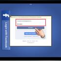 """Öffnen Sie nach der Installation die Gratis-App mit einem Klick auf das App-Icon. Bevor Sie die App nutzen können, müssen Sie Ihre Facebook-Zugangsdaten eingeben. Geben Sie Ihre E-Mail-Adresse und das Passwort ein und klicken Sie anschließend auf """"Anmelden"""". (Bild: Screenshot / Video-Downloader für Facebook)"""