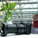 Das Zoomobjektiv vor dem 20,1-Megapixel-Sensor reicht von 25 bis 400 Millimetern (Kleinbild äquivalent). (Bild: netzwelt)