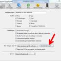"""Auf der Registerkarte """"Allgemein"""" finden Sie im unteren Teil die Importeinstellungen, welche auch für den Import einer Musik-CD gelten. Klicken Sie auf den Button """"Importeinstellungen"""", um den Konverter auszuwählen. (Bild: Screenshot/Apple iTunes)"""