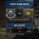 Sehe ich auch in Battlefield Hardline gern: Mein Team hat gewonnen! (Bild: Screenshot/EA)