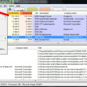 """Der native Task-Manager ist übersichtlicher, aber auch abgespeckt. Wenn Sie von den vielen Informationen des Process Explorers nicht abgeschreckt, sondern begeistert sind, können Sie den Task-Manager in Rente schicken. Klicken Sie auf """"Options"""" und danach auf """"Replace Task-Manager. Entscheiden Sie sich später um, machen Sie die Einstellung mit den gleichen Klicks rückgängig. (Bild: Screenshot/Microsoft Process Explorer)"""
