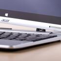 So sieht es aus, wenn es fast fertig ist und sich aus dem Tablet ein fast vollwertiges Notebook entwickelt hat. (Bild: netzwelt)