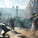Die stärke der Präsentation von Assassin's Creed ist neben der detaillierten Darstellung des von der Revolution gebeutelten Paris, die schiere Anzahl an Figuren, die gleichzeitig auf dem Bildschirm zu sehen sind. (Bild: Ubisoft)