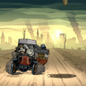 Die Flucht in einem Taxi wird zu einer weiteren Geschicklichkeitsprobe. (Bild: Screenshot/Ubisoft)