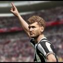 Juventus Turin-Star Fernando Llorente fordert den Ball. (Bild: Konami)