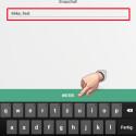 """Jetzt denken Sie sich einen Nickname aus und geben diesen ein. Der Nickname wird anderen Nutzern angezeigt und dient dazu, dass Ihre Freunde Sie erkennen. Jeder Nutzername wird nur einmal vergeben. Deshalb ist es mitunter nicht einfach, einen freien Namen zu finden. Ist der Name bereits reserviert, wird Ihnen das nach einem Klick auf """"WEITER"""" angezeigt. (Bild: Screenshot/Snapchat)"""