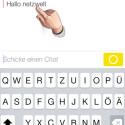 Eine Textnachricht archivieren Sie offiziell. Dafür müssen Sie keinen Screenshot anfertigen. Tippen Sie den empfangenen Text mit dem Finger an. (Bild: Screenshot/Snapchat)