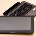 Sowohl im Tablet als auch im Tastatur-Dock verbaut Medion Akkus. (Bild: netzwelt)