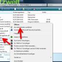 """Nach dem Download der portablen Version der Software entpacken Sie diese. In dem entpackten Ordner befindet sich die Datei """"RSW.exe"""". Klicken Sie die Datei mit der rechten Maustaste an und wählen Sie im Kontextmenü den Eintrag """"Als Administrator ausführen"""". (Bild: Screenshot/Windows Explorer)"""