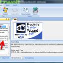 """Nach der Auswahl der richtigen Windows-Version konfigurieren Sie die Autorun-Funktion für Ihre Laufwerke, indem Sie im Verzeichnisbaum auf das Plus-Zeichen vor """"Datenträger"""" klicken. Danach wählen Sie den Unterpunkt """"Autostartfunktion nur für bestimmte Laufwerksbuchstaben ausschalten."""" (Bild: Screenshot/Registry System Wizard)"""