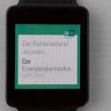 Auf dem Smartphone eingehende Benachrichtigungen erscheinen umgehend auf der G Watch. (Bild: netzwelt)