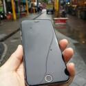 Hier die Vorderseite des wasserdichten iPhone. Zu erkennen sind auch abgerundete Ecken. (Bild: moscoat)
