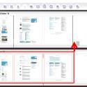 Markieren Sie alle Seite, die Sie mit einem Mal verschieben möchten. Halten Sie dafür die [Strg]-Taste gedrückt und klicken Sie mit der linken Maustaste auf die jeweilige Seite. Anschließend ziehen Sie die Seiten per Drag-and-drop an die gewünschte Stelle. Diese muss nicht zwingend das Ende des anderen Dokuments sein. (Bild: Screenshot/PDF24 Creator)