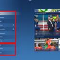 Das Menü der Sportschau-App ist in zwei große Bereiche untergliedert: alles rund um das Thema Fußballweltmeisterschaft und ein zweiter Bereich zu den Sozialen Netzwerken. Loggen Sie sich mit Ihren Daten ein, verfolgen Sie, was die ARD Sportschau tweetet, postet und teilt. (Bild: Screenshot/Sportschau FIFA WM)