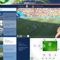In den Highlights rufen Sie sich die Höhepunkte der einzelnen Spiele auf. Diese können Sie sich in 20 verschiedenen Kameraperspektiven ansehen. Sie sehen so auch, was das Fernsehen nicht zeigt. Unter anderem  erhalten Sie eine Draufsicht und erkennen so die Mannschaftstaktik. (Bild: Screenshot/Sportschau FIFA WM)