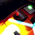 Rotierende Laserstrahlen, glühende Lava, unerbittliche Stachelkugeln…der arme Armillo. (Bild: Fuzzy Wuzzy Games)