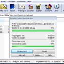 Ein Status-Fenster zeigt Ihnen während der Erstellung der ausführbaren Datei den Fortschritt an. (Bild: Screenshot / WinRAR)