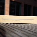 6,6 Millimeter: Bereits auf der Verpackung wirbt Samsung mit der Dicke des Tablets. (Bild: netzwelt)