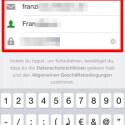 """Geben Sie nun in den dafür vorgesehenen Feldern Ihre E-Mail-Adresse, einen Nutzernamen und Ihr Passwort ein. Um die Eingaben zu bestätigen, tippen Sie auf """"Fertig"""" oder den Pfeil oben rechts. (Bild: Screenshot/Instagram)"""