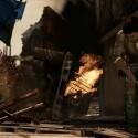 Wo anderswo ein Schusswechsel innerhalb eines einstürzenden Gebäudes lediglich eine Zwischensequenz wäre, sind wir in Uncharted 2 mittendrin. (Bild: Sony)